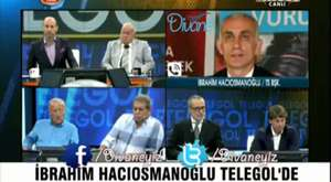 İbrahim Hacıosmanoğlu Telegol'de