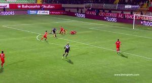 Alanyaspor 1-4 Beşiktaş Maç Özeti