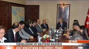 Adana kent Konseyi  Hüseyin Sözlü ZiyaretiZiyaret