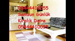 Samsun Günlük Kiralık 05444410055 Samsun Günlük Kiralık Daire 0544 441 00 55