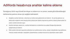 AdWords Reklam Politikaları - Google Adwords Seminerleri