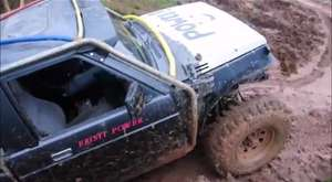 Nissan Y60 37` Extreme Tires  Off Road