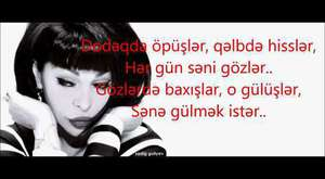 Aygün Kazımova - Sənə Xəstəyəm - LYRİCS 2014