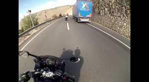 Ankara Kargasekmez canyon riding gopro from rider's eyes