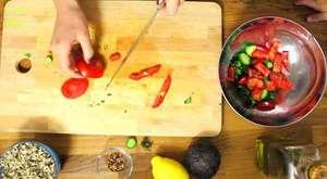 Rus Salatası Yapımı