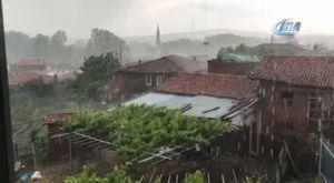 Çanakkale'de orman yangını 03.06.2018