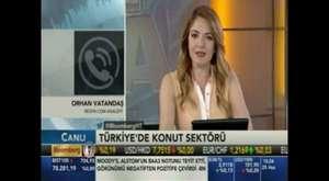 REIDIN Satış Direktörü Kazım Murat Şimşek'in BloombergHT canlı yayını