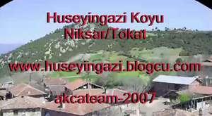 Niksar Hüseyingazi Köyü Kızıltepeden Çekim (Niksarın Fidanları)