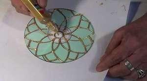 Desenli mumluk yapımı