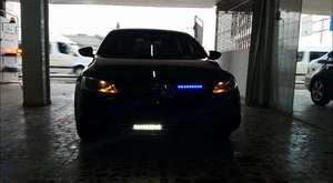 2014 Mercedes 350 CDI Panjur içi çakar lamba
