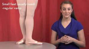 Fitting Gaynor Minden Pointe Shoes  Section 8