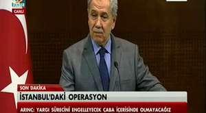 Bülent Arınç |Yolsuzluk ve Rüşvet Operasyonu Hakkında Basın Toplantısı [TEK PARÇA] |18 Aralık 2013