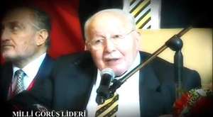 Prof. Dr. Necmettin Erbakan - Birleşmiş milletler şunu dedi de bunu dedi de - WebTv
