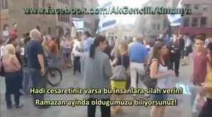 İsrailli Göstericileri Yerin Dibine Sokan Türk
