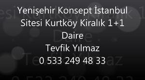 Pendik Kurtköy Dumankaya Konsept Sitesinde 2+1 Kiralık Daire Ekim 2018