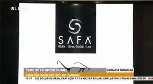 SAFA GRUP OPTİK ÜLKE TV RÖPORTAJ - İSOF FUAR 2014