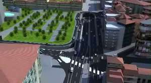 3 üncü Boğaz Köprüsü Animasyon Filmi