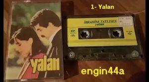 İbrahim Tatlıses - Yalan Albümü 1983 (Kaset Versiyonu)