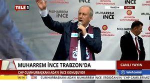 Muharrem İnce Trabzon Mitingi - 29 Mayıs 2018 - HD