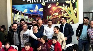 Akhisar Belediyesi Sanat Atölyesi Engelsiz Kalemler Sergisi