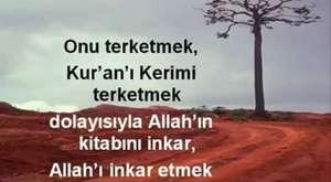 Herkes bize düşman, peki niçin düşman Allah'ın doğrularını söylü