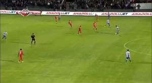 Yeni Malatyaspor - Samsunspor maçı son dakikalar videosu