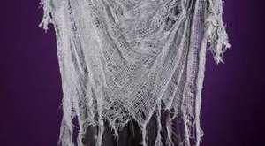 01395 - Işıklı ve Sesli 70 cm Süpürgeli Cadı Dekor Süs