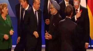 Başbakan Abbas Güçlü'ye Aba Altından Sopa Gösterdi