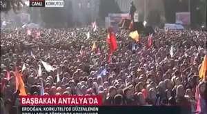 Başbakan Erdoğan. Antalya / Korkuteli Toplu Açılış Töreni