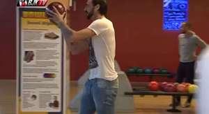 Beşiktaş'lı oyuncuların bowling keyfi