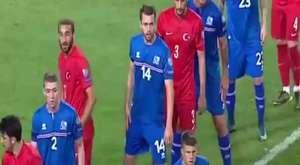 SELÇUK İNAN GOLÜ  TÜRKİYE 1 - İZLANDA 0