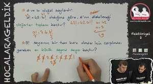 Tam Sayılar -1 | Matematik | Hocalara Geldik