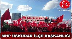 MHP ÜSKÜDAR'DA BAYRAMLAŞMA