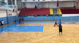 basketbol atış ve sayı