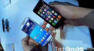 Samsung Galaxy S4 Vs iPhone 5 Hands On
