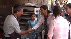 Leyla Güven`den Viranşehir Esnafına Teşekkür Ziyareti