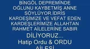 Bingöl Şerefdağları Türküsü