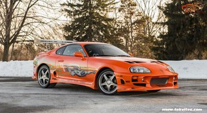 Supra vs Ferrari (Fast And Furious)