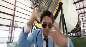 NASA'dan Gangnam Style dansı
