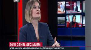 ASLI NOYAN TRT HABER SPIKERI  07.04.2012 - Video 1