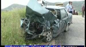Bucak Kestel'de Trafik Kazasi:2'si Ağır 4 Yaralı