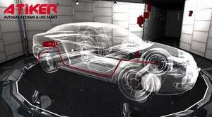 Yağmur Medya Atiker 3D Araba Animasyonu | Yağmur Medya Atiker 3D Car Animation