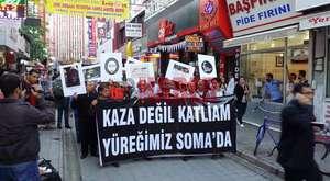 Malatya'da Gezi Parkı Yürüyüşü