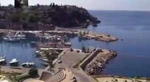 Antray Antalya Hafif Raylı Sistem - Tünelden Geçiş