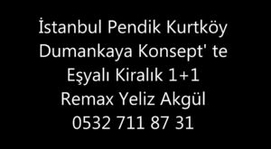 İstanbul Pendik Kurtköy Kiralık 2+1 Daire Nar Life Sitesi
