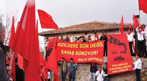 Grup Yorum Süresiz Açlık Grevi Direnişinin 168. Gününde