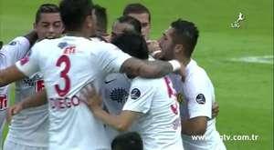 Eskişehirspor 2 - 1 SAİ Erciyesspor(10.Hafta Maç Özeti)