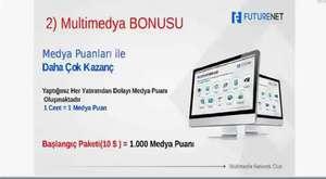 1) Futurenet Sosyal medya bonusu - www.futurenetuyelik.com