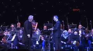 Operanin krali ndan İstanbul da muzik ziyafeti