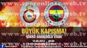 Fenerbahçe - Galatasaray DERBİSİ
